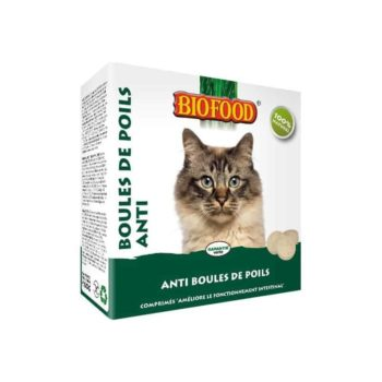 anti boule de poils chat bio food