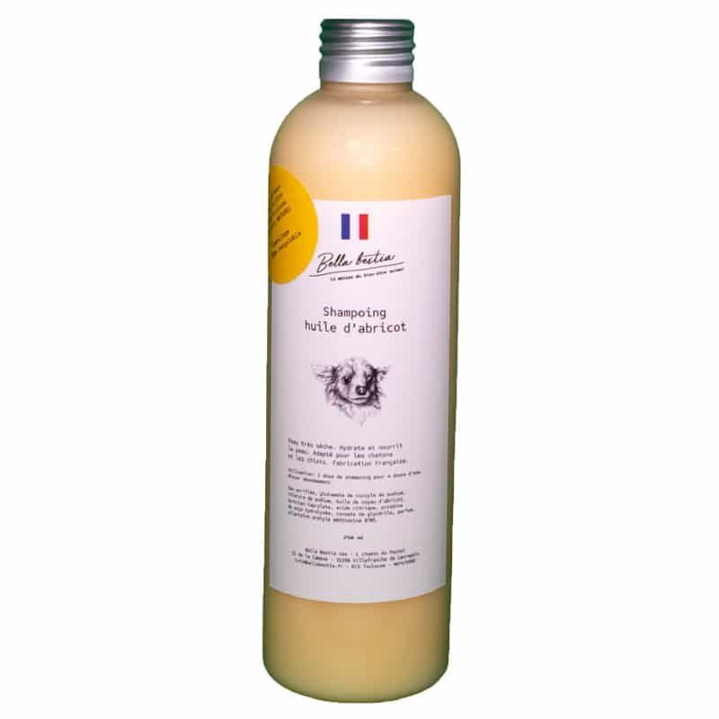 Shampoing Abricot Chien 80