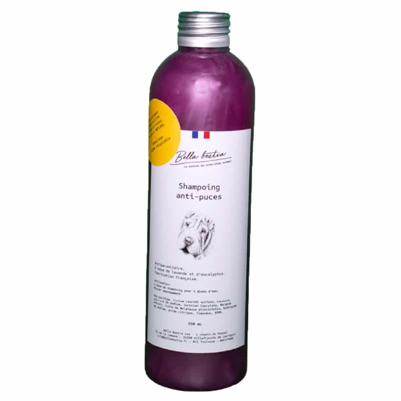 Shampoing Anti Puces Tiques Chien 80