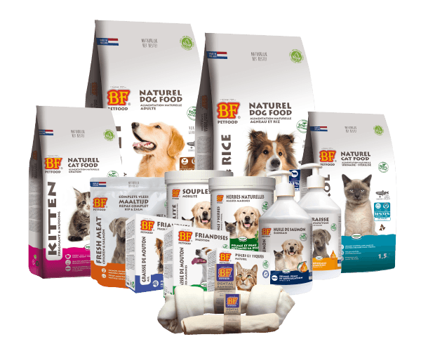 gamme alimentation chien chat biofood 8